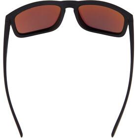 Alpina Kosmic Glasses black matt/neon yellow mirror